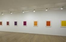 Exposition Fernand Leduc, octobre 2011.  Galeries Bellemare Lambert